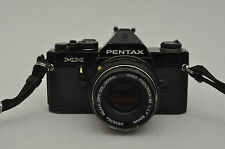 Pentax MX Black mit SMC 50mm f1,7