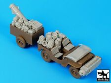 Black Dog 1/35 British Para Jeep Before Drop Accessories Set (for Bronco) T35110