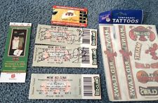 2 Maine Red Claws 2009 Opening Night Inaugural Home Game Tickets Signed!Details