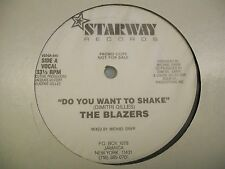 "The Blazers-Do You Want To Shake-12""Single-Vinyl Record-Starway-VEDGA945-VG++"