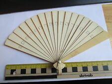1920's Hand held Celuloid Fan (Plain)