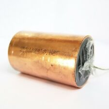 Obbligato Copper Capacitor 6.8uF (630V). Solid copper case. Smooth sound.