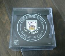 Los Angeles Kings 50th Anniversary Opening Night Official Game Puck - VERY RARE