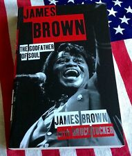 JAMES BROWN THE GODFATHER OF SOUL 336 page UK Import Paperback SEX MACHINE