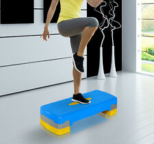 "Soozier Fitness Aerobic Step 27'' Cardio Adjust 4"" - 6"" Exercise Stepper Risers"