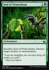 MTG 4x SEAL OF PRIMORDIUM - SIGILLO DEI PRIMORDI - MMA3 - MAGIC