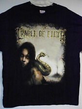 NEW - CRADLE OF FILTH BAND / CONCERT / MUSIC T-SHIRT EXTRA LARGE