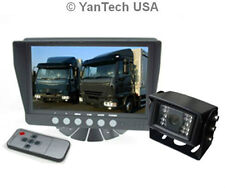 """7"""" Color CCD Rear View Backup Camera System-Reverse System with 2 Video Inputs"""