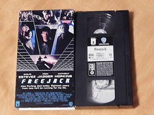 Freejack + Jack Speed + The Name of the Rose (VHS x 3) Lot - Connery - Jagger)