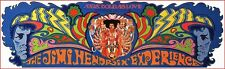 """JIMI HENDRIX WOODSTOCK GUITARIST PSYCHEDELIC POSTER AXIS: BOLD AS LOVE 12""""X35""""!"""