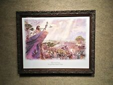 "Thomas Kinkade - The Lion King 13 1/2"" x 16 1/2"" Framed Water Color $35 OFF"