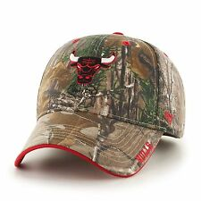Chicago Bulls 47 Brand Frost Hat Adjustable Cap Real Tree