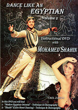 Dance Like An Egyptian by Mohamed Shahin Volume Two - Oriental Egyptian Shaabi