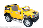 Licensed Hummer H2 12V 72W Kids Electric Ride on Car Toy with Remote Control