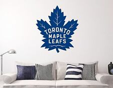 Toronto Maple Leafs Wall  Decal Sports Hockey Sticker Vinyl Decor NHL Atlantico