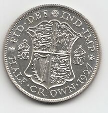 Very Rare George V 1927 Proof Silver Halfcrown 2/6