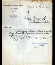 "MUTZIG (67) USINE d'OUTILS ""MUTZIG - FRAMONT"" en 1920"
