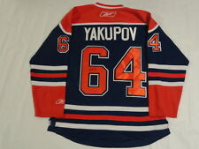 NAIL YAKUPOV SIGNED EDMONTON OILERS JERSEY PROOF LICENSED JSA AUTHENTICATED
