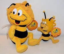 Lot de 2 peluche Plush MAYA L'Abeille The Bee 2004 Play by Play