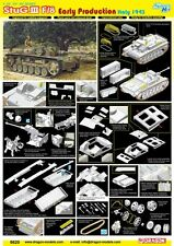 Dragon 1/35 6620 StuG.III F/8 Early Production Italy 1943