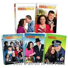 Mike and & Molly: CBS TV Series Complete Season 1 2 3 4 5 Box / DVD Set(s) NEW!