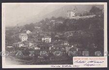 TORINO SETTIMO VITTONE 13 CASTELLO - CANAVESE Cartolina viaggiata 1901