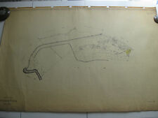 ROMA Mappa Catastale 268 PRATI FISCALI VALLE MELAINA CASALE GIULIANI 1943