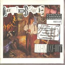 """DAVID BOWIE """"Day-In Day-Out"""" rote 7"""" Vinyl Single Box Ltd numbered sealed"""