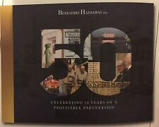 Berkshire Hathaway 50th Book 2015 1st Edition Celebrating 50 Years Buffett Rare
