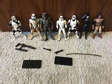 STAR WARS  LOOSE StormTrooper  Scout Trooper Lot Army Builder