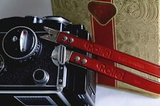 (Wine Red) Rolleiflex Scissor Strap for Rolleiflex 3.5f, 2.8f, T etc - BRAND NEW