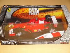 M. Schumacher Ferrari F2001 King of Rain Regenreifen Rain Tire OVP 1:18