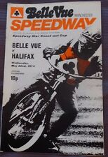 Belle Vue v Halifax, 22 May 1974 Speedway Star Knock-out Cup