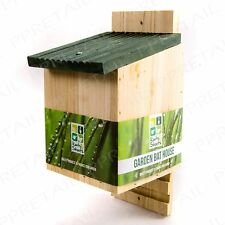 WOODEN BAT BOX Chamber Safety Habitat Nesting House Roosting Cave Garden Shelter