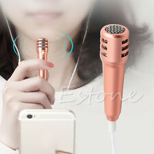 3.5mm Stereo Studio Headphone Earphone with Mic Microphone For Cell Phone Skype