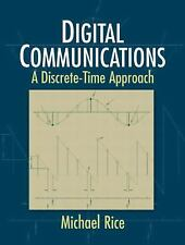Digital Communications: A Discrete-Time Approach, Rice, Michael, Acceptable Book