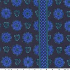 Michael Miller Patty Young Grand Bazaar Sari Wrap Fabric in Midnite 100% Cotton