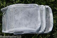 """(6) Six Filter Media Bag 8""""x 5.5"""" (Aquarium Active Carbon ,Bio Ball bag )"""