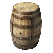 TABLES - NAPA WINE BARREL TABLE - ROUND STORAGE TABLE - FREE SHIPPING*