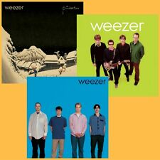 Weezer Album Bundle - Blue Album/Pinkerton/Green Album - 3 x 180g Vinyl LP *NEW*