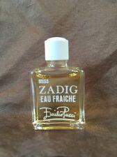 Vintage MISS ZADIG EAU FRAICHE by Emilio Pucci Parfum EDP 5ml Mini Perfume