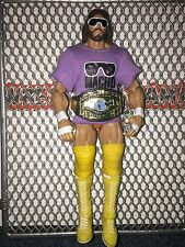 Macho Man Randy Savage WWE MATTEL ELITE Legend Wrestling Figure shirt title belt