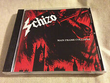 SCHIZO - Main Frame Collapse CD NEW COPY!
