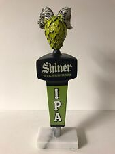Shiner Wicked Ram IPA Beer Tap Handle Rams Hop Head Style NEW in BOX & F/S 11.5""