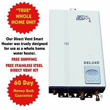 Instant On-Demand Tankless Hot Water Heater Natural Gas NG Whole House Unit