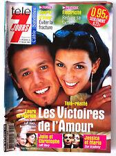Télé 7 Jours 26/01/2002; Laure et Fabrice de Loft Story/ James Bond/ Prix d'Amér