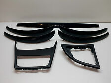 BMW 1 SERIES E87 Interior Dash Trim Set Dark Blue 7129144 7071273 Dekorleisten