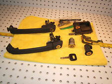 Volvo 1997 850 Sedan doors/ glove/ trunk Lid / igintion OEM 1 SET & YMOS 1  key