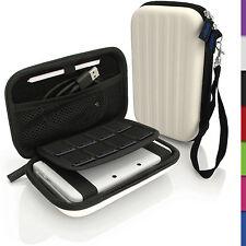 Weiß Hart Tasche Schutzhülle fur Nintendo 3DS XL 3DSXL Alle Version Etui Case