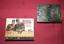 GERMAN WW2 WEHRMACHT ESBIT stove + packaging, box (d3)